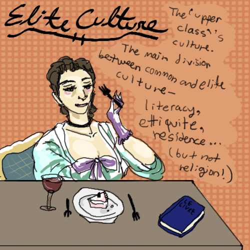 definition of elite culture The most common definitions of popular culture suffer from a presentist bias   and rome, defined, described, and derided as such by various elite authors12.